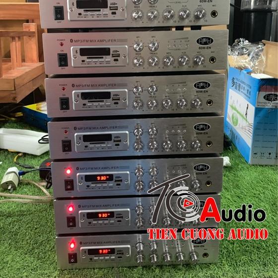 Amply APU 60W-EN công suất 60W điều khiển âm lượng 2zone