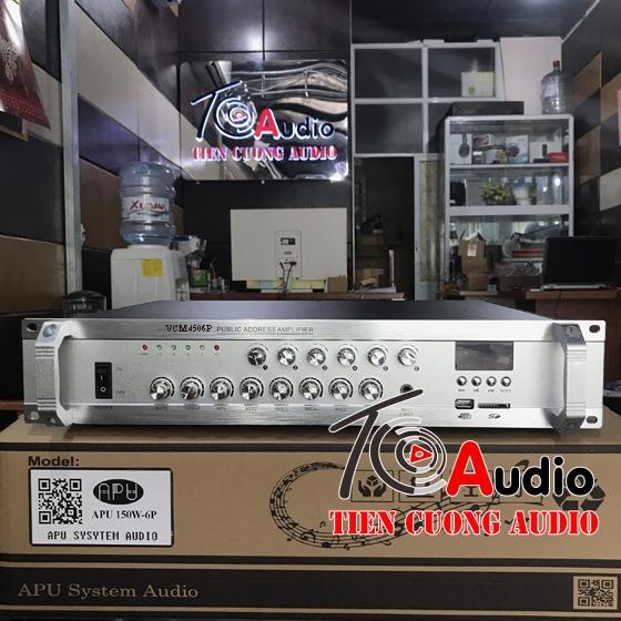 Amply APU VCM 450W6P công suất 450W 6 vùng