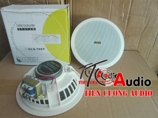 Loa âm trần APU CLS606T công suất 3-6w